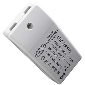 Ecloud Shop® SMD LED TRANSFORMATEUR CONVERTISSEUR 220V A 12V MR16
