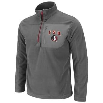 NCAA Florida State Seminoles Mens Alpine 1 4 Zip Polar Fleece Sweatshirt by Colosseum