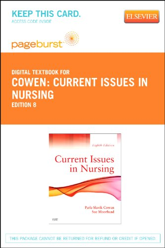 current issues in nursing Nursing as part of an integrated the national advisory council on nurse education policy issues related to programs authorized by title viii of the u.