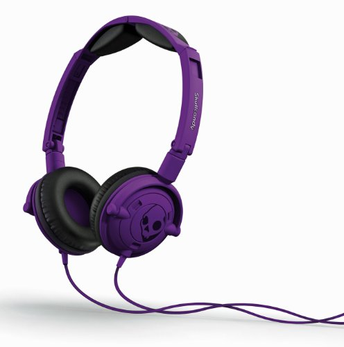 Skullcandy Lowrider 2.0 On-Ear Headphones with Mic - Athletic Purple