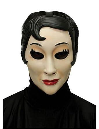 Amazon.com: Scary-Masks Emo Girl Plastic Mask Halloween Costume - Most