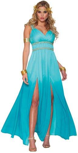 Blue Goddess Dress