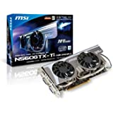 MSI NVIDIA GeForce  GTX560 Ti 搭載ビデオカード (PCIe対応)   N560GTX-Ti Twin Frozr II OC V2