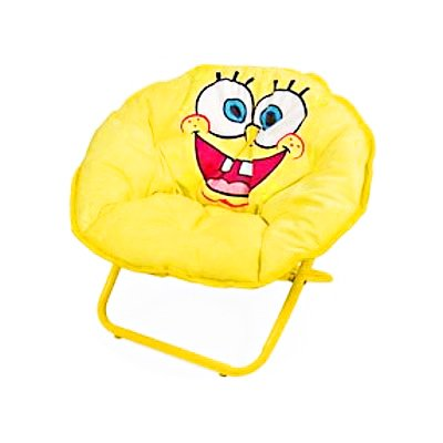 Ideanuova-Spongebob: Kid-Size Saucer Chair With Carry Case
