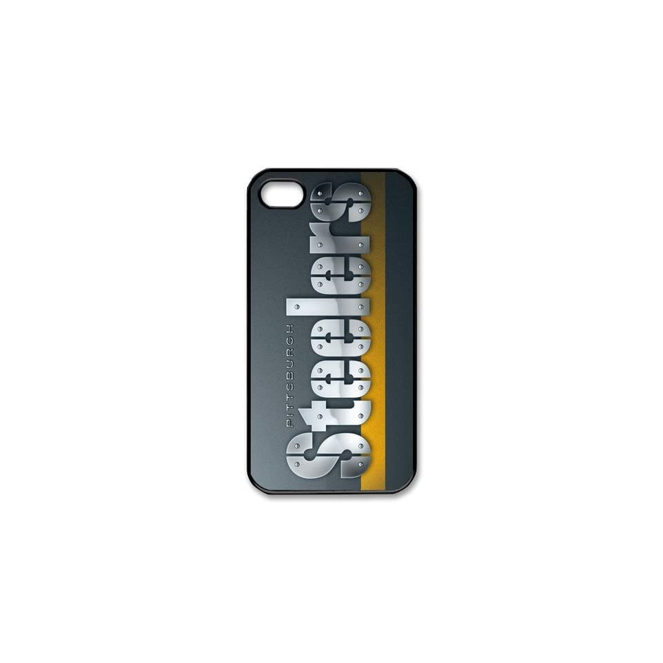 NFL Pittsburgh Steelers iPhone 4/4s Fitted Case made of PC plastic Steelers logo