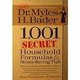 1,001 Secret Money Saving Formulas