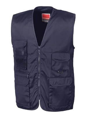 Result R045X Adventure Safari Waistcoat Gilet Midnight Navy L
