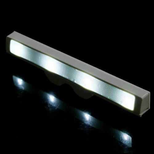 Kkmoon Auto Shaking Led Sensor Motion Detector Drawer Saving Energy Light Lamp For Kitchen White