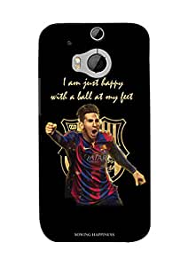 Sowing Happiness Printed Back Cover for HTC One M9