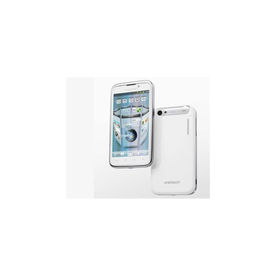 Alcatel One Touch 995S Ultra Pure White (Unlocked GSM Phone)