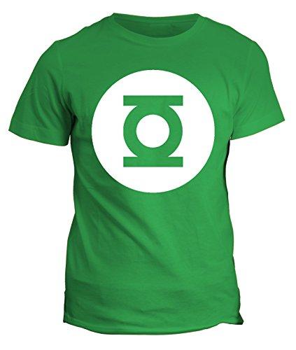 T-shirt Green Lantern- Sheldon Cooper the big bang theoy-Lanterna verde - serie tv -nerd geek uomo donna bambino