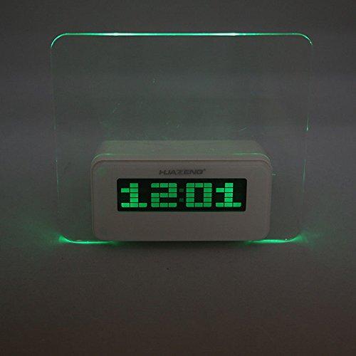 Unihandbag Hot Sale Fluorescent Message Board Digital Alarm Clock 4 Port Usb Hub