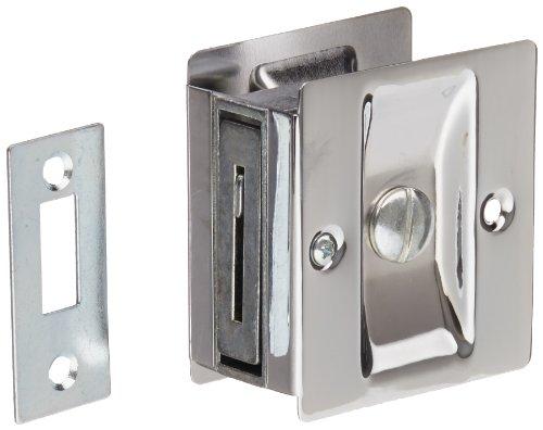 Rockwood 891.26 Brass Pocket Door Privacy Latch, 2-1/2