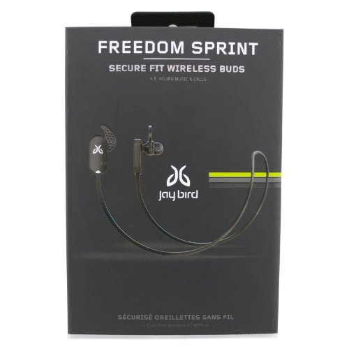 Genuine Jaybird Freedom Sprint Bluetooth Stereo Earbud Headphones Jf4Mbl - Black