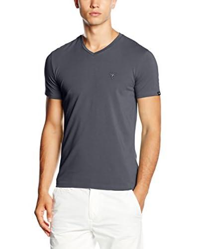 Guess Camiseta Manga Corta Gris Oscuro
