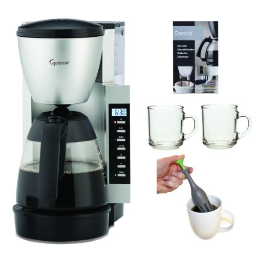 Capresso 47604 CM200 10-Cup Programmable Coffee