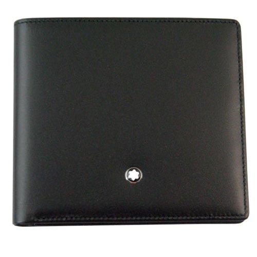 (モンブラン) MONTBLANC 財布 U0007163 30655 8CC 二つ折り財布 レザー メンズ 男性用 ブラック 黒