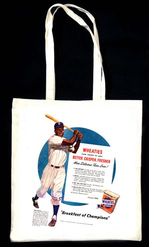 wheaties-cereal-advert-jackie-robinson-baseball-tasche