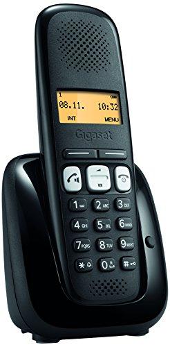 Gigaset A 250 Telefono Fisso Senza Filo, Nero