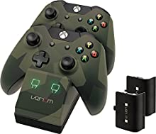 Venom - Twin Docking Station & Battery Packs Con Cubiertas Camo (Xbox One)