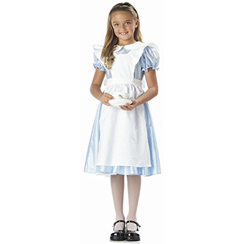 Child's Alice in Wonderland Costume (Size:Large 10-12)