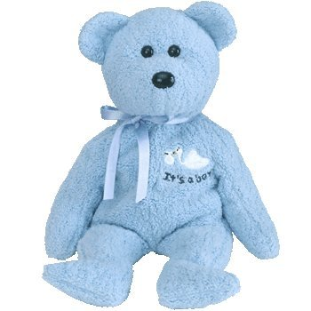 TY Beanie Baby - BABY Boy the Bear [Toy]