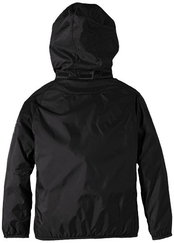 PUMA Kinder Jacke Rain Jacket, black-white, 164, 653968 03 -
