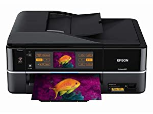Epson Artisan 800 Wireless Photo All-in-One Printer (Black)(C11CA29201)