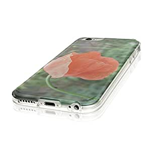 """Flowers 10084, Tulip, Ultrathin Crystal Soft TPU Gel Silicone Case Cover Skin Shell Protector with Colourful Design for iPhone 6 4.7"""""""