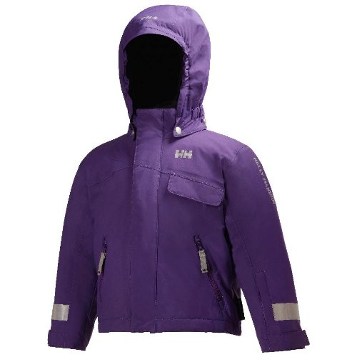 d8e08c0a Helly Hansen Girl's K Rider Insulated Jacket, Imperial Purple, ...