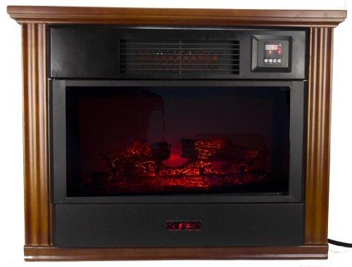 SUNTEC FPR3000 1200 Square FT. Portable Infrared Quartz Fireplace Heater - 1500w picture B00GUTQ1RQ.jpg