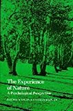 img - for The Experience of Nature: A Psychological Perspective book / textbook / text book