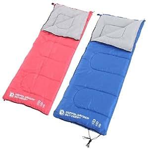 DOPPELGANGER ( ドッペルギャンガー) マトリョーシカスリーピングバッグS2-109 3WAY 寝袋 2枚(レッド・ブルー)1セット [ 最低使用温度 -4℃ ]