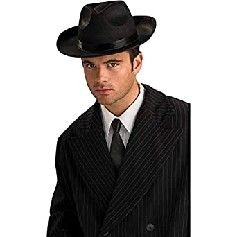 The Shadow Black Fedora Hat