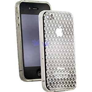 Apple iPhone 4G (Newest Model!) Semi-Hard Polymer Crystal Case (Clear)