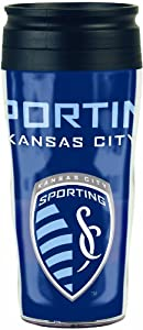 MLS Sporting Kansas City 16-Ounce Travel Mug by WinCraft