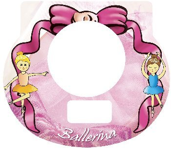 Tot Clock Faceplate: Ballerina Design - 1