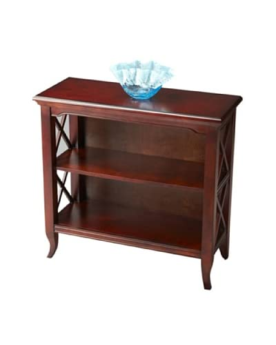 Butler Specialty Company Low Bookcase, Plantation Cherry
