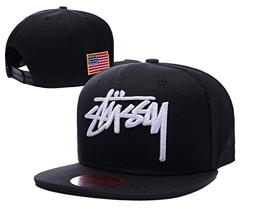 BunnyPHMY Unisex Outdoor Summer Camping Cotton Baseball STUSSY Snapback Cap