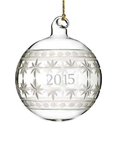 Marquis by Waterford Annual Ball 2015 Ornament, Clear