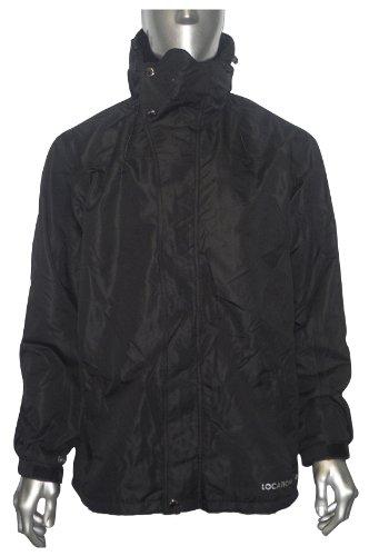 Mens Location Fleece Lined Waterproof Balaclava Rain Hooded Winter Jacket Size S