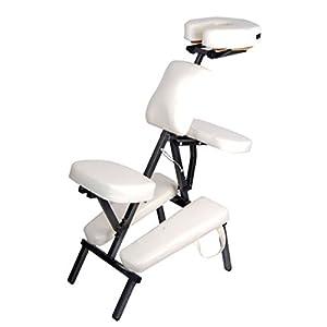 Chaise de massage amma assis aluminium 8 Kg idéal shiatsu ou tatouage