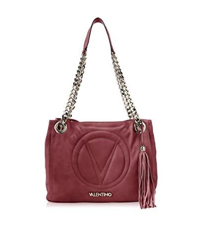Valentino Bags by Mario Valentino Women's Luisa 2 Shoulder Bag, Marsala/Ego