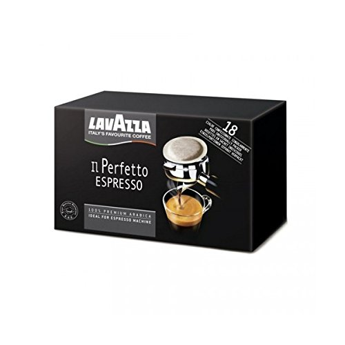 Buy LAVAZZA - Il Perfetto Espresso SINGLE SERVING ESE 44mm Pods - 3 x 18 ESE pods (TOTAL = 54 ESE pods) - Luigi Lavazza S.p.A, Italia