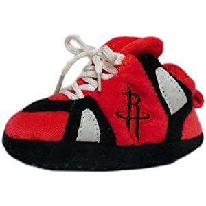 NBA Baby Slipper Size: One Size Fits All, NBA Team: Houston Rockets by Comfy Feet