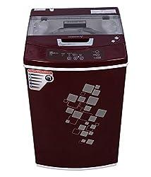 Videocon VT60H12 Digi Gracia Prime Fully-automatic Top-loading Washing Machine (6 Kg, Dark Maroon)