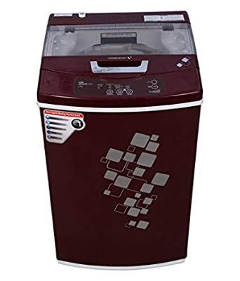 Videocon Digi Gracia Prime VT60H12 Fully-automatic Top-loading Washing Machine (6 Kg, Dark Maroon)