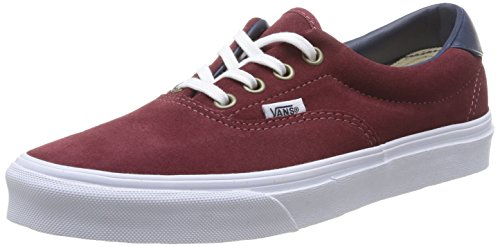 Vans ERA 59, Low-Top Sneaker unisex adulto, Rosso (Rosso (Oxblood Red)), 44