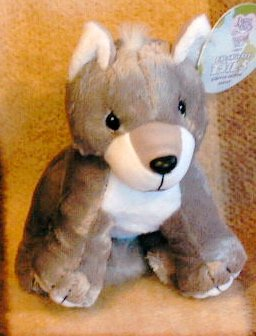 Precious Moments Tender Tails Grey Wolf - 1