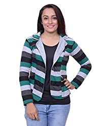 Snoby Tricolor Green Jacket (SBY11018)